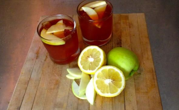 Brandy+Apple+Punch+Recipe+[Video] | Liquid Goodness | Pinterest