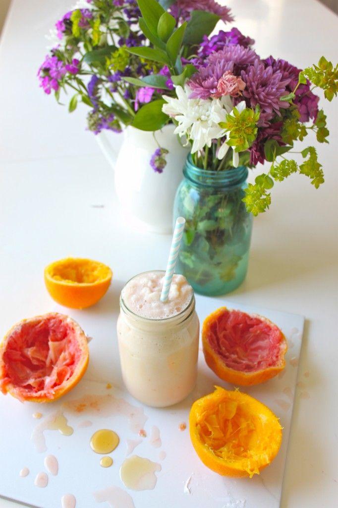 citrus creamsicle smoothie milkshake | :: yum | drink :: | Pinterest