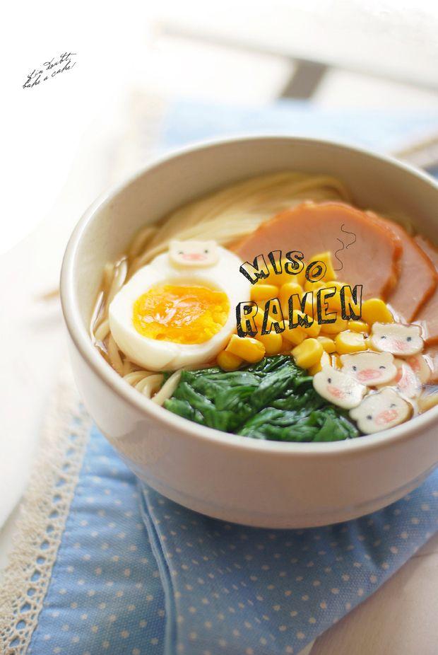 Miso Ramen | Bento Box's | Pinterest