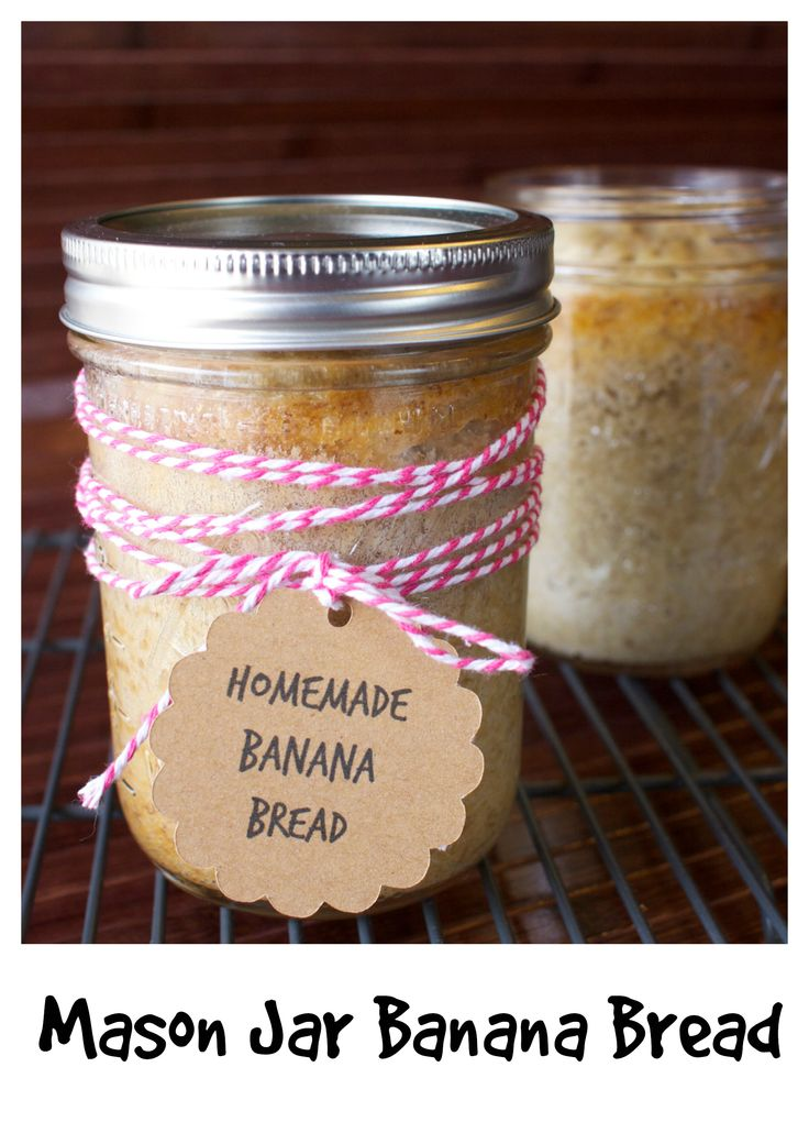 Chocolate Chip Banana Bread In A Jar Recipe — Dishmaps