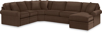 Collins Sectional Lazy Boy Fabric Java Home Pinterest