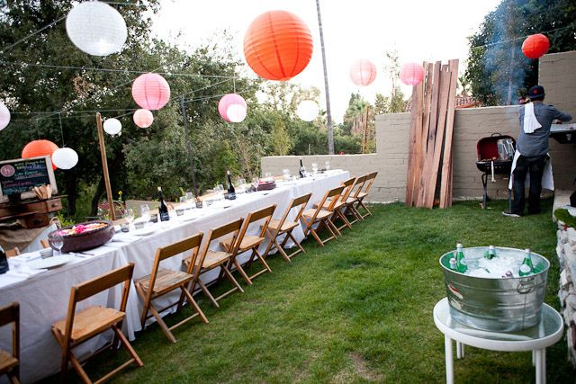 Throw A Big Backyard Bbq Party Virtual Vision Board