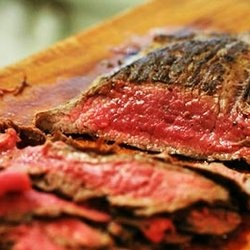 Quick and Easy Pan- Fried Flank Steak | Paleo Mains - Beef | Pinterest