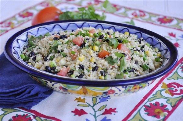 Black Bean and Tomato Quinoa Salad   Recipe