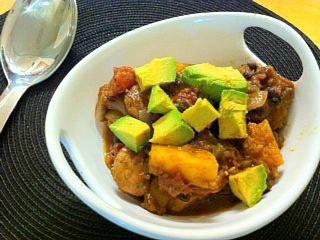 Southwest Butternut Squash Chili | chow | Pinterest