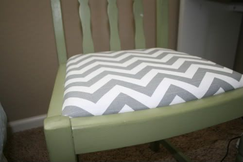 DIY Recover Chair Cushions