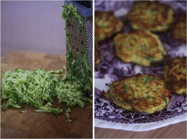 Gluten-Free Is Me: Summer Squash and Cornmeal Cakes - Feed Me Phoebe