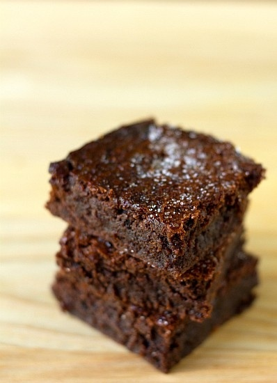sweet and salty brownies by stacey | sweet gifts | Pinterest