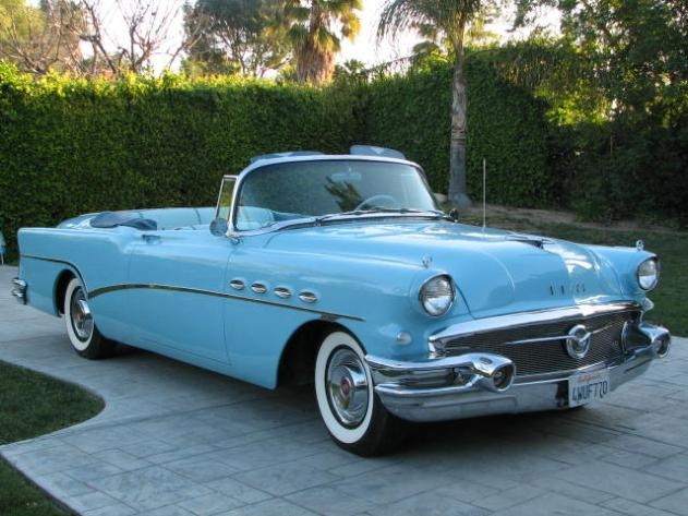 1955 buick roadmaster convertible wheels wings waves. Black Bedroom Furniture Sets. Home Design Ideas