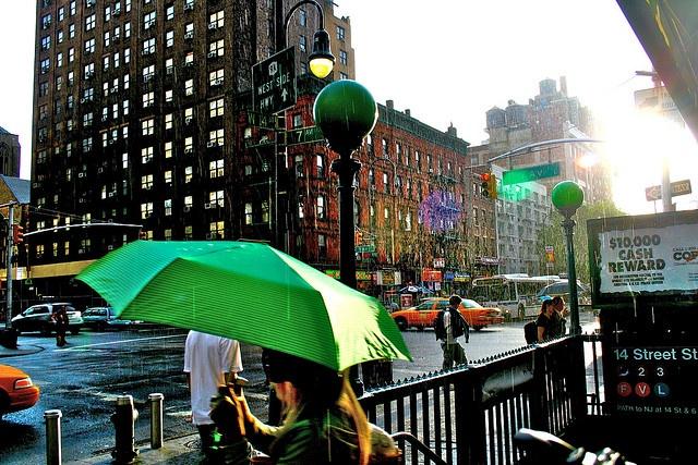 Rainy Sunny NYC Day | NYC Photography by Hilary | Pinterest