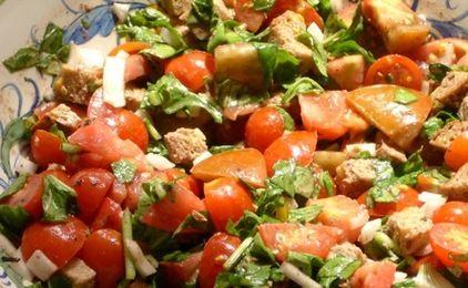 Tomato Bread Salad | Time to Eat | Pinterest
