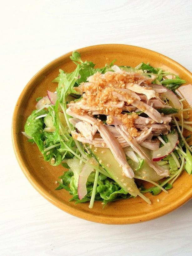 ginger & sesame chicken salad | Soups, Salads & Dressings | Pinterest
