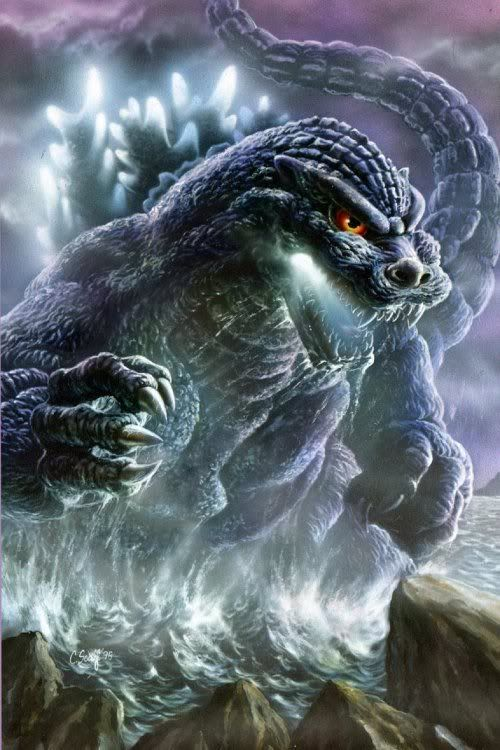 Godzilla 2014 Bob Eggleton SketchGodzilla 2014 Sketch