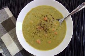 ... Pea & Carrot Soup. A good basic recipe for a vegetarian Split Pea soup
