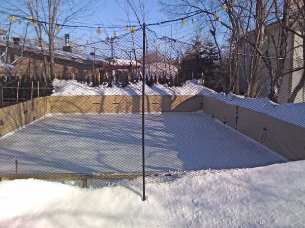 Backyard Ice Rink Diy : DIY ice rink  Things to Do With the Boys  Pinterest