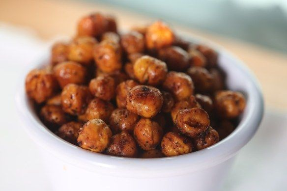 Spicy Roasted Chickpeas | Easy Foods for Writers on Deadline | Pinter ...