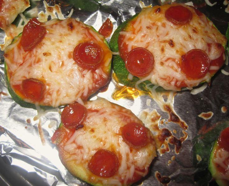 Zucchini pizza bites | Recipes | Pinterest