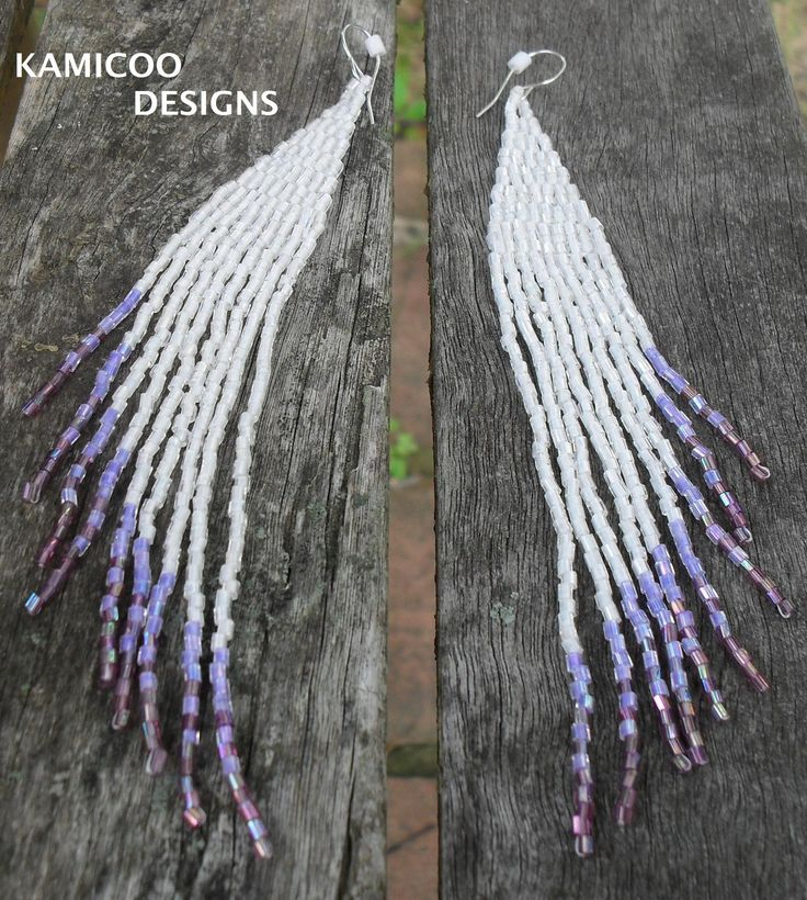 seedbead earrings