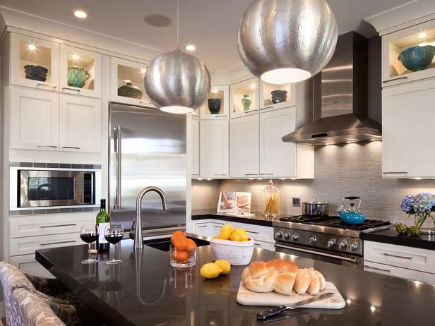 cabinets up to the ceiling  Kitchen ideas  Pinterest