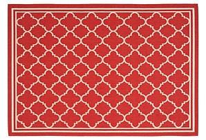 red outdoor rug home goods pinterest