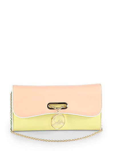 Shop now: Riviera Tri-Color Clutch