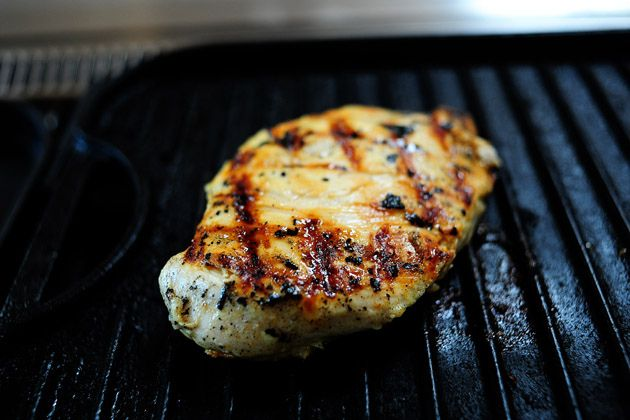 Grilled Chicken with Lemon Basil Pasta | Recipe