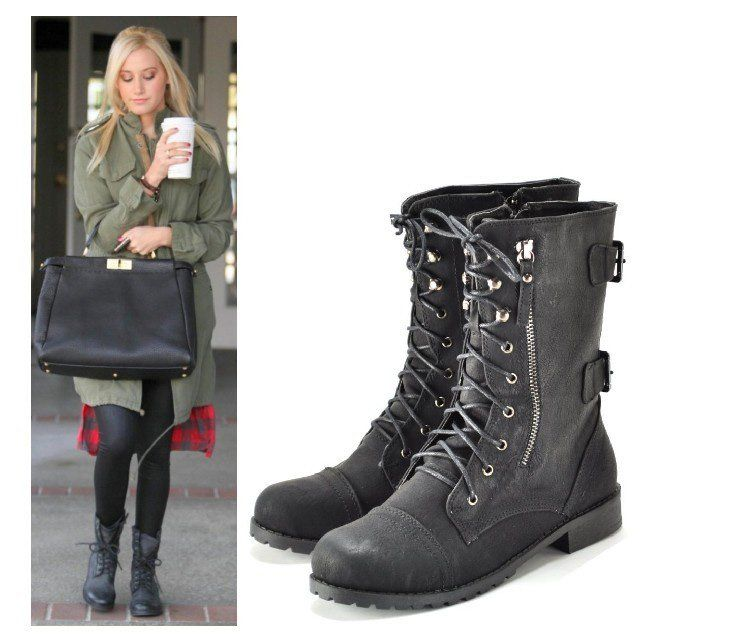 Love Army Boots Fashion Pinterest