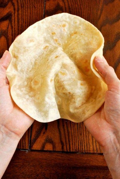 Homemade Flour Tortillas | Recipe