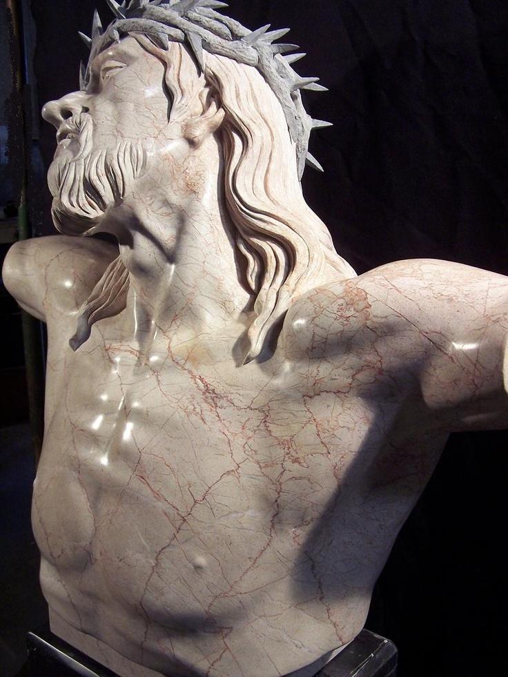 Marble Religious Sculpture Jesus | Sculpture | Pinterest