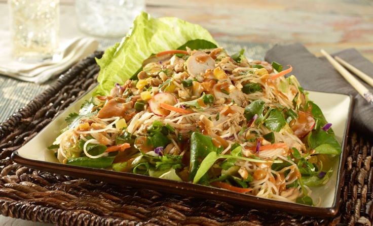 Thai Chicken Noodle Salad | Chinese | Pinterest