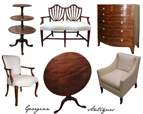 Georgian Furniture Concept Mood And Sample Boards Pinterest