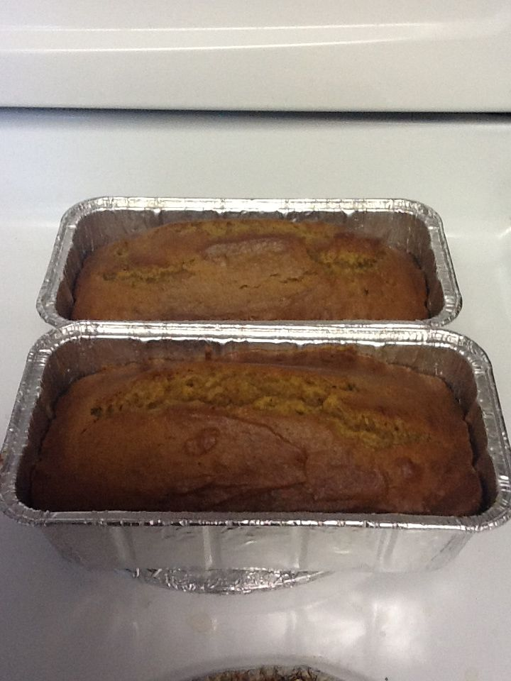 Downeast Maine Pumpkin Bread from All Recipes.com. So Yummy with ...