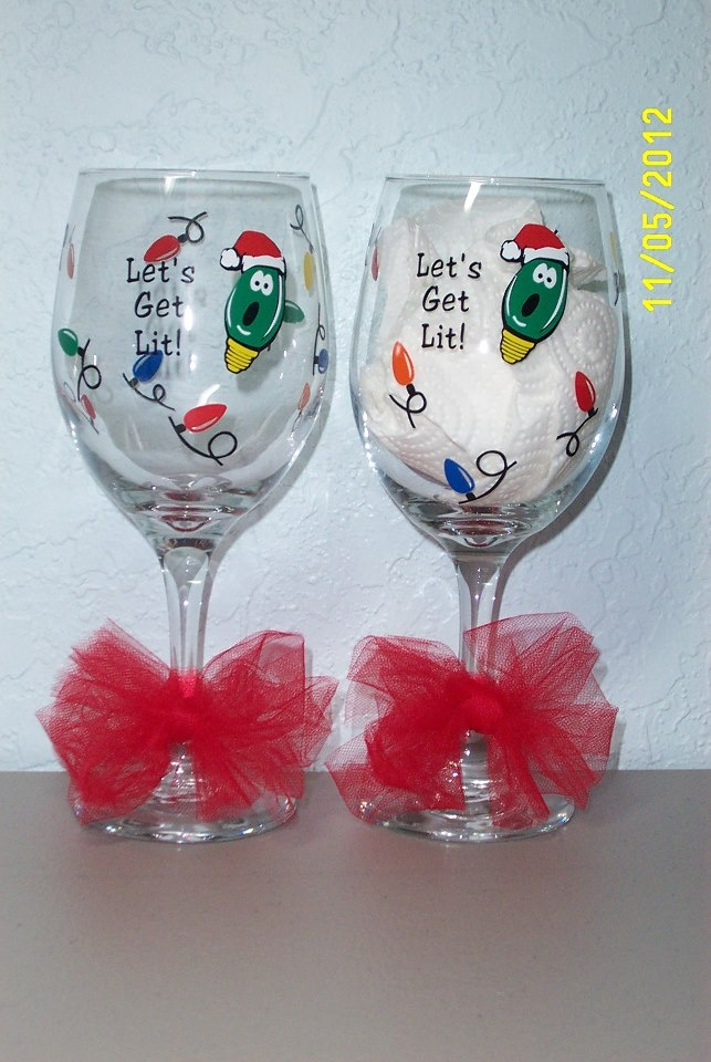 vinyl wine glass ideas cricut pinterest