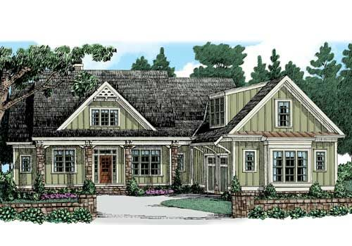 frank betz highland cottage house plans pinterest