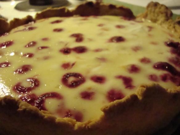 Lemon Raspberry Tart in Hazelnut Pastry | Baking/Pastries/Sweets | Pi ...