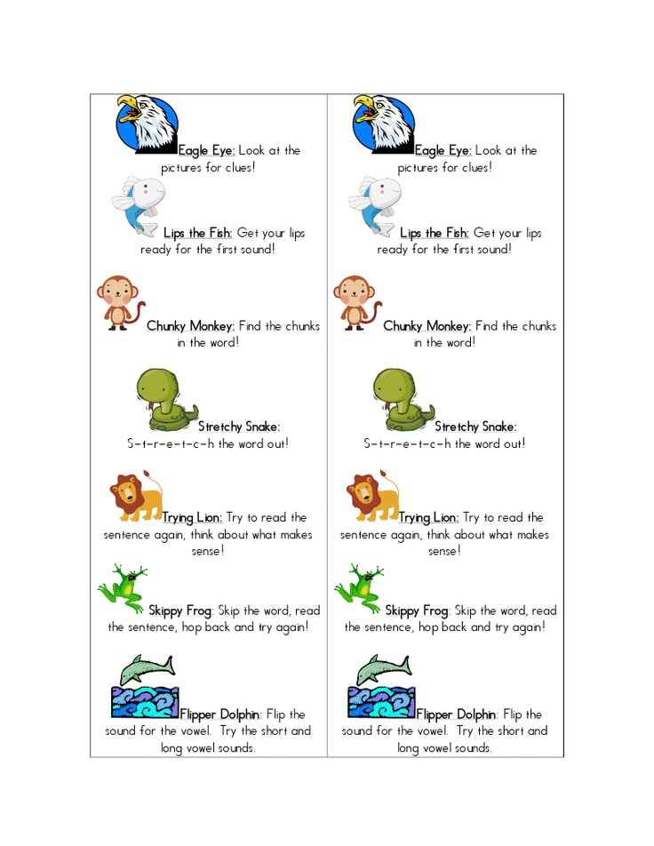 how to teach beanie baby reading strategies