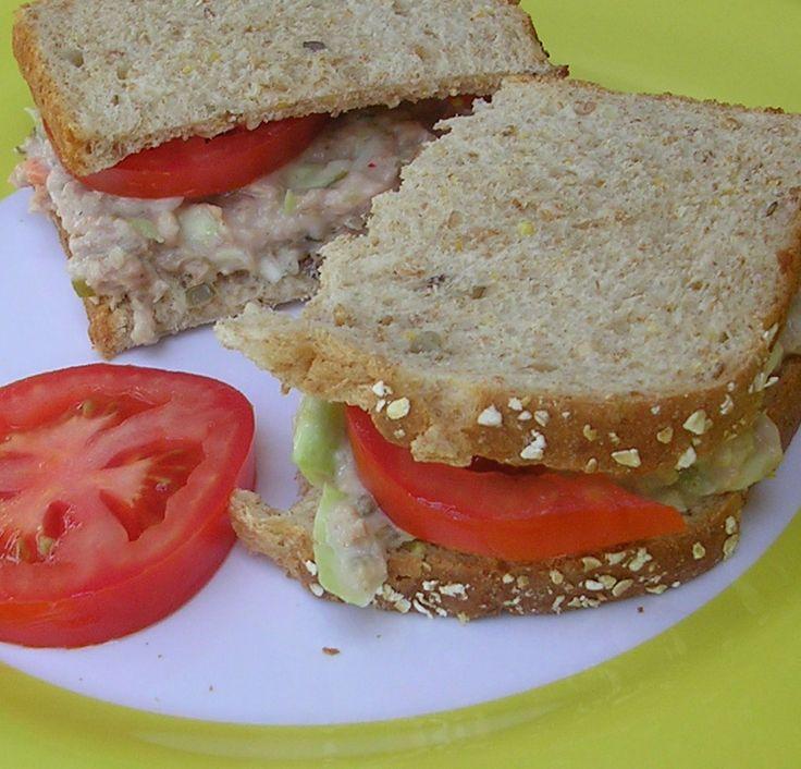 Tuna Salad Sandwiches | Salads.....Salads | Pinterest