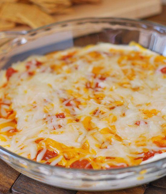 Skinny Layered Pizza Dip Recipes — Dishmaps