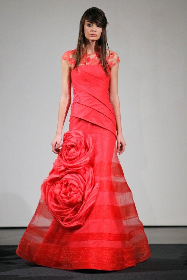 Red Wedding Dress Red Wedding