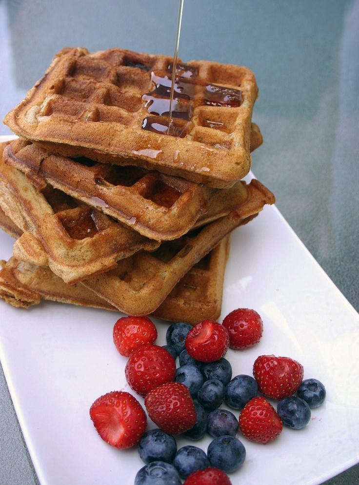 Brown Sugar Bacon Waffles @Evelyne Perdriau Budkewitsch