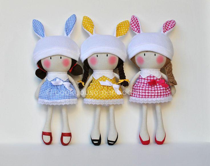 3 Мои Teeny-Крошечный Куклы ® все выстроились в довольно подряд / Кук вам некоторые макаронные ®