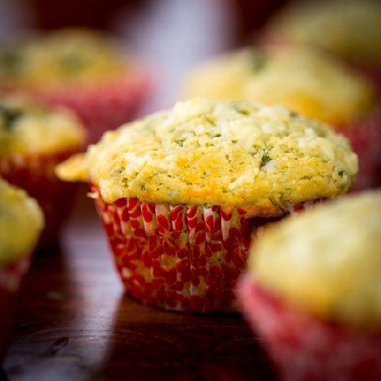 Arugula Cheddar Gluten-Free Muffins | Breads, Biscuits & more | Pinte ...