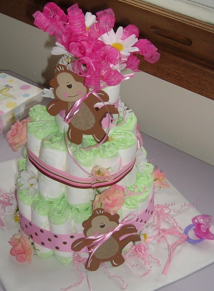 diaper cake for baby shower crafts diy pinterest