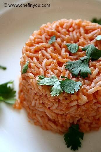 This Mexican rice (or is it Spanish rice?) recipe is immensely simple ...