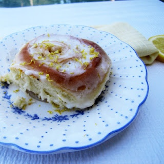 Sticky Lemon Rolls with Lemon Cream Cheese Glaze