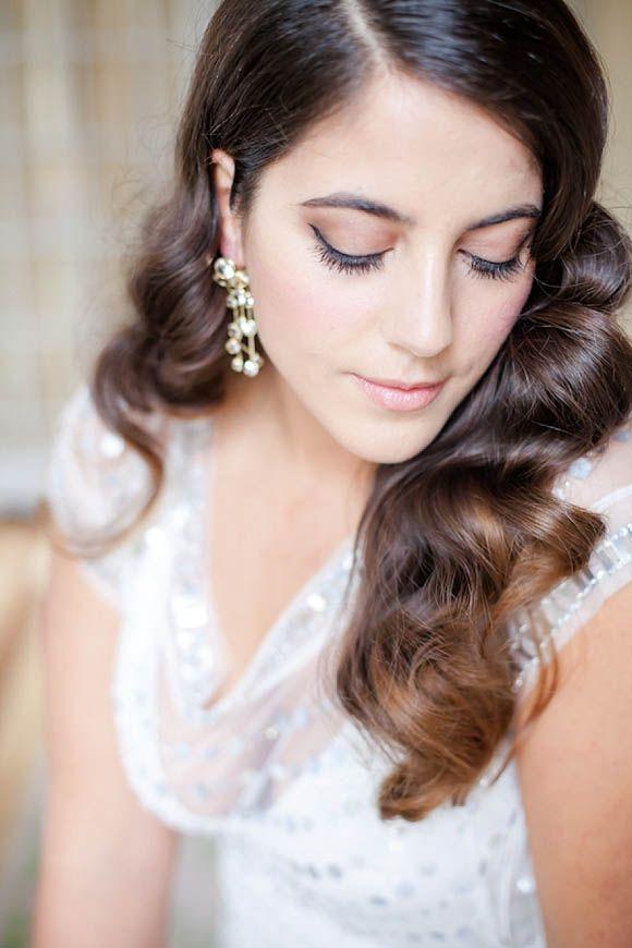 Wedding Hair And Makeup Inspiration : Vintage, Glamorous and Romantic Wedding Hair and Makeup ...
