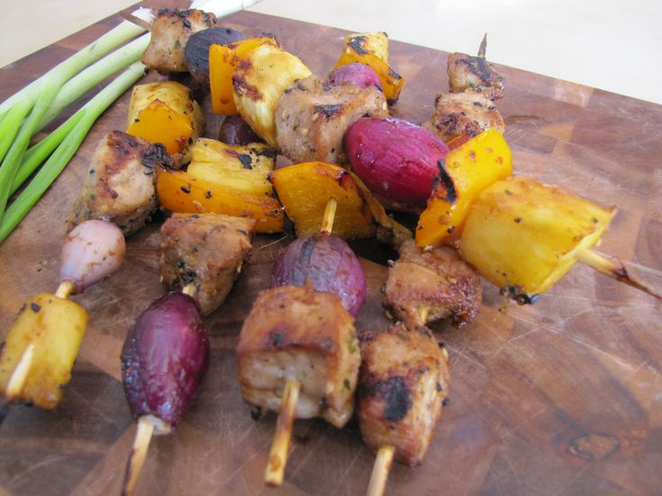 Asian Pork Skewers - Nutrition WOD | What's for dinner?! | Pinterest