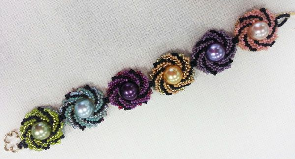 easy seed bead bracelet patterns bead class catalog bead happy and ...