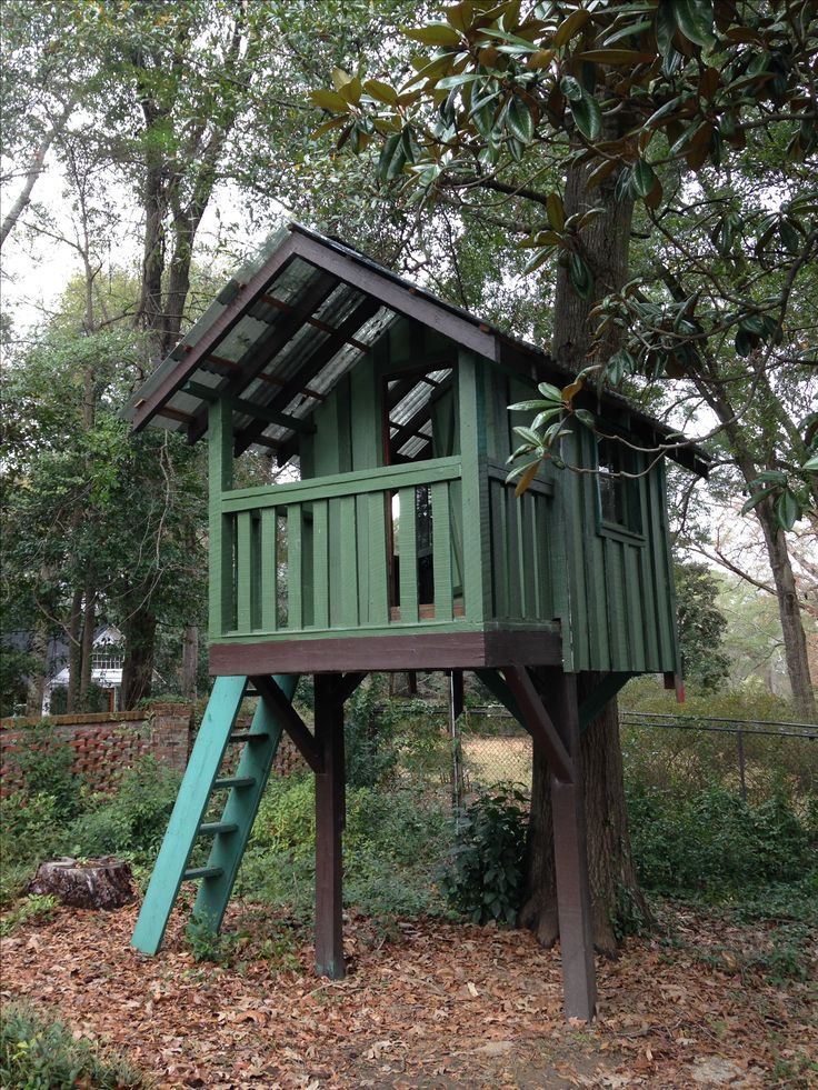 Pin by corry eagler on kid stuff pinterest for Kids wooden treehouse