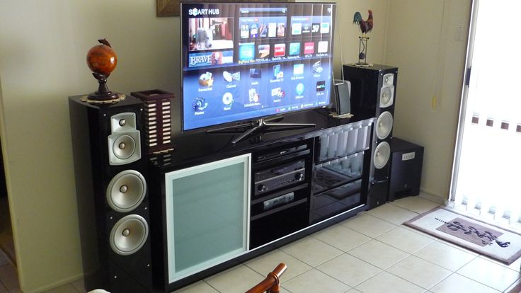 Home setup home theater ideas pinterest for Home theater setup ideas